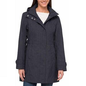 Kirkland Ladies' Trench Rain Jacket, Small, Navy